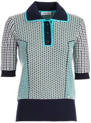 Carven Motifs Polo Shirt