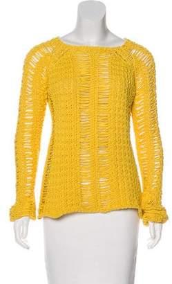 Balmain Open Knit Sweater