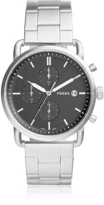 Fossil The Commuter Chronograph Stainless Steel Men's Watch