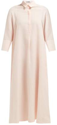 Jil Sander Galalite Shirtdress - Womens - Light Pink