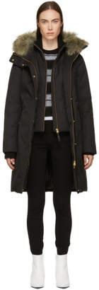 Mackage Black Harlowe Down Coat