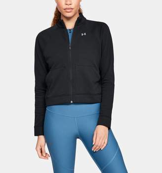 Under Armour Women's UA Favorite Terry Bomber Jacket