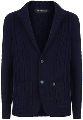 Stefano Ricci Cashmere Cable Knit Cardigan