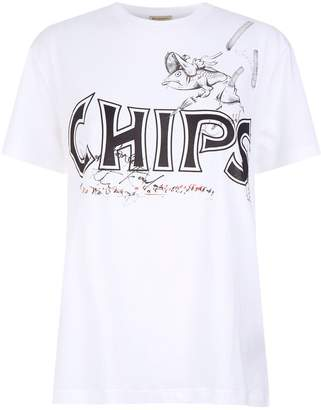 Burberry Fish and Chips T-Shirt