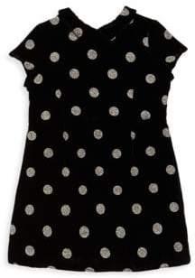 Bonpoint Little Girl's& Girl's Polka Dot Short-Sleeve Dress