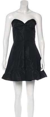 Miu Miu Strapless A-Line Dress