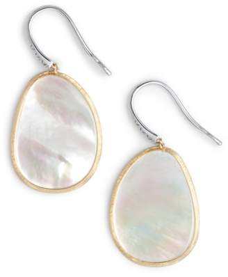 Marco Bicego Lunaria Mother of Pearl Drop Earrings