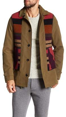 Scotch & Soda Explorer Parka with Detachable Hoodie