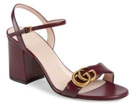 18cfcde0509 Gucci Red Ankle Strap Women s Sandals - ShopStyle