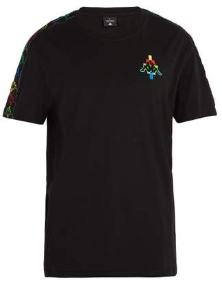 Marcelo Burlon County of Milan X Kappa Cotton Blend T Shirt - Mens - Multi