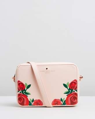 Johnny Loves Rosie Rose Detailed Cross-Body Bag