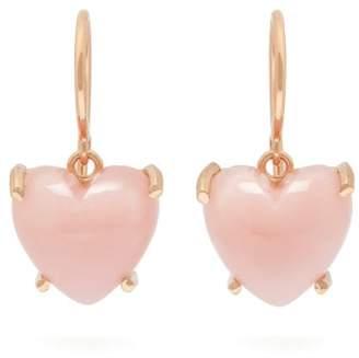 Irene Neuwirth Love Pink Opal & 18kt Rose Gold Earrings - Womens - Pink