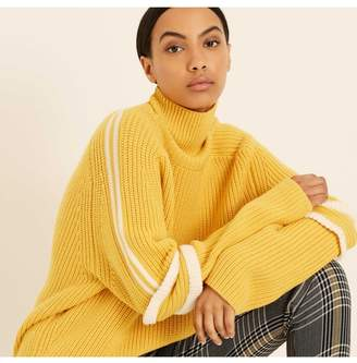 Amanda Wakeley Saffron Merino Wool Ski Sweater