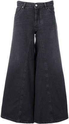 MM6 MAISON MARGIELA wide-leg flared jeans