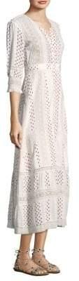 LoveShackFancy Desert Victorian Maxi Dress