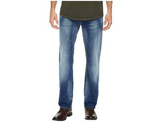 Buffalo David Bitton Evan-X Slim Straight Leg Jeans in Veined and Whiskered