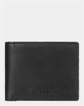 Quiksilver Mens Dry Reefs Leather Wallet