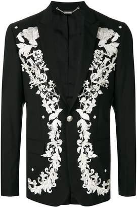 John Richmond floral embroidered blazer