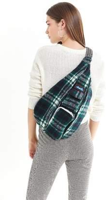 Kavu Plaid Rope Sling Bag