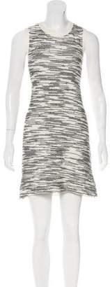 Derek Lam Bouclé Sleeveless Mini Dress
