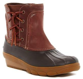 Sperry Saltwater Wedge Spray Waterproof Boot