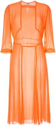 Zambesi orange Fire dress