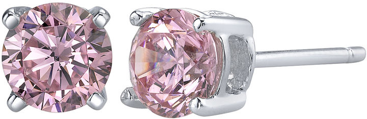 JCPenney FINE JEWELRY Diamonore 1 ct. t.w. Pink Simulated Diamond Studs