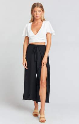 MUMU Limbo Pants ~ Black Flux