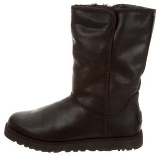 UGG Australia Michelle Leather Boots $125 thestylecure.com