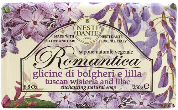 Romantica - Tuscan Wisteria and Lilac by Nesti Dante (250g Soap)