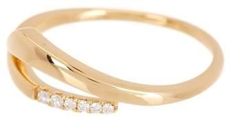 Bony Levy 18K Gold Open Shape Diamond Accent Ring - 0.05 ctw