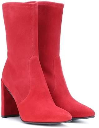 Stuart Weitzman Clinger suede ankle boots