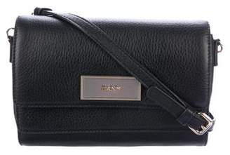 DKNY Leather Flap Crossbody Bag