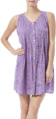Maggie B Lavender Pintuck Tunic