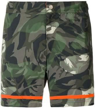 Alexander McQueen camouflage swim shorts