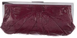 Miu MiuMiu Miu Patent Leather Clutch