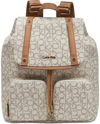 Calvin Klein Teodora Cargo Signature Backpack
