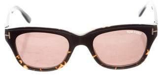 Tom Ford Snowdon Wayfarer Sunglasses