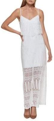 GUESS Lace Maxi Dress