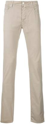 Jacob Cohen slim fit comfort trousers
