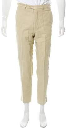 Gucci Velvet Flat Front Pants