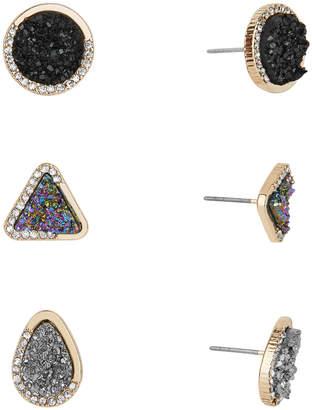 BaubleBar Over The Moon Druzy Stud Earrings 71183