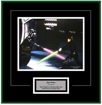 Star Wars FAIRCHILD PARIS Autographed Photo by Mark Hamill & David Prowse