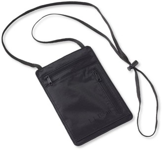 L.L. Bean L.L.Bean RFID-Blocking Travel Neck Wallet