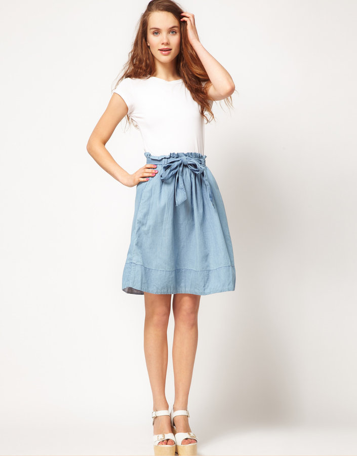 A Wear Denim Skirt