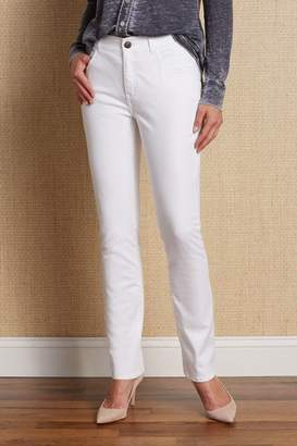 Soft Surroundings Classic Straight Leg Jeans