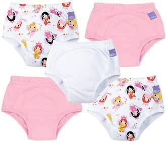MIO Bambino Potty Training Pants, Mixed Girl Fairy, 3 Plus Years, 5 Count