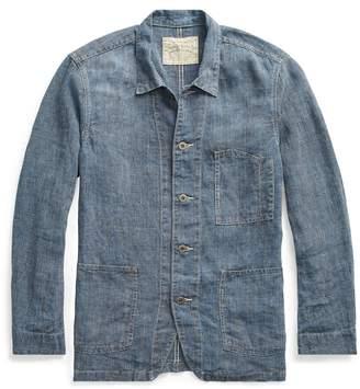 Ralph Lauren Indigo Linen Jacket