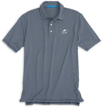 Southern Tide Georgia Southern Striped Polo Shirt