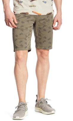NOIZE Casual Bicycle Print Shorts